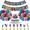 トロールズ キッズ用パーティー用品 トロールズ テーマ 誕生日パーティーデコレーション 56個セット