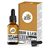 AromaMusk Brow & Lash Growth Serum For Thicker, Longer Eyebrows and Eyelashes, 30ml (With Castor Oil...