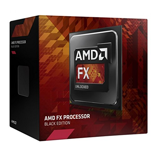 AMD FD8370FRHKBOX - Procesador (AM3+, 8 x 4.0 GHz/8 MB Box)