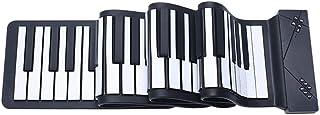 Portable Digital Keyboard Piano Thickening Hand-Rolled Piano Keyboard Midi Piano 88 Key Foldable Piano (Color : 88 key thi...