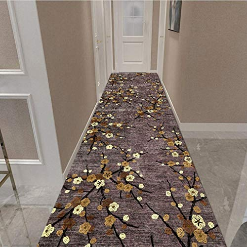 Rugs Washable Runners Non Shedding, Dog Friendly Easy Care Kitchen Runner Rugs Non Skid Washable, Anti Bacterial, Colourfast, Resilient (Color : A, Size : 80×300cm)