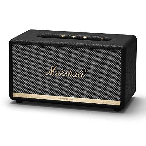 Marshall Stanmore II Altavoz Estéreo Bluetooth Altavoz BT, 2 x 20 W + 1 x 40 W, Negro, 18.5 x 35 x 19.5 cm