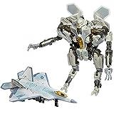 JINJIND Juguetes de Transformers, Dominio de Stars Crema Figura de acción Deformación Robot Modelo Juguete Niños Favorito Regalo