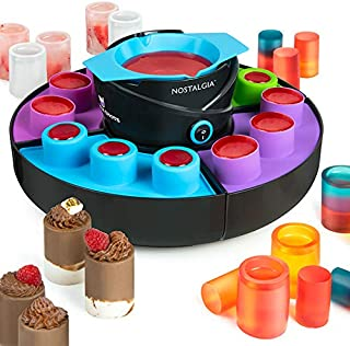 Nostalgia SM12 Edible Shot and and Cup Maker, Black