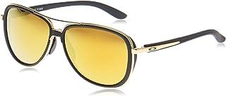 نظارة سبليت تايم الشمسية من اوكلي ذهبي 58 mm