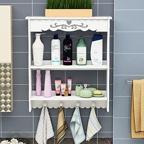 Benfa Cuarto de baño Estantería Cuarto de baño Cuarto de baño Inodoro Inodoros Lavabo Lavabo montado en la Pared Caja de Almacenamiento de cosméticos Organizador de cosméticos