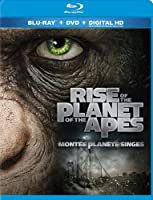 Rise of the Planet of the Apes (Bilingual) [Blu-ray + DVD]