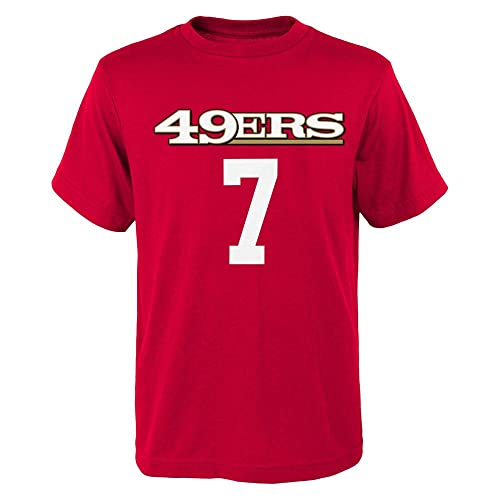 827b1259a Outerstuff Colin Kaepernick San Francisco 49ers Toddler Red Mainliner Jersey  Name and Number T-shirt