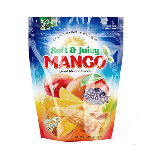 Dried Mango Strips Soft & Juicy (LOW SUGAR)