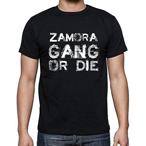 Zamora Family Gang, Camiseta para Las Hombres, Manga Corta, Cuello Redondo, Negro
