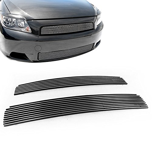 ZMAUTOPARTS For Scion Tc Front Upper + Bumper Lower Billet Grille Grill Insert 2Pcs