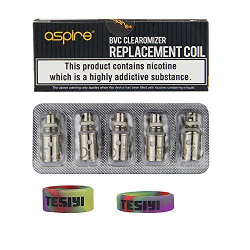 aspire BVC-Spulen 1,8 ohm, für K2 K1 ET-S Glas CE5 CE5-S ET Vivi Nova Mini Vivi Nova Maxi Mini E-Pen, Zerstäuber, Aspire Spryte AIO K2 - Starter-Kit