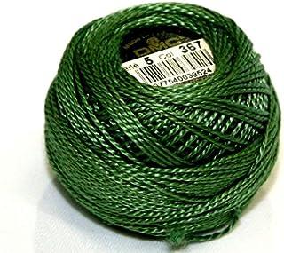 DMC Cotton Perle Thread Size 5 367 - per 10 gram ball