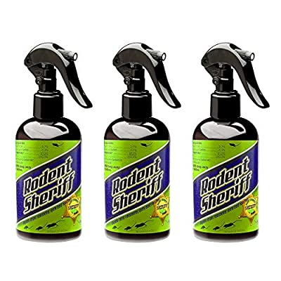 Rodent Sheriff Pest Control Spray - Made in The USA - Ultra-Pure Mint Spray to Repel Rodents (3)