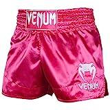 VENUM Classic, Pantaloncini Muay Thai Unisex – Adulto, Rosa/Bianco, M