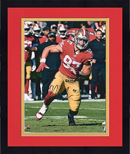 Framed Nick Bosa San Francisco 49ers Autographed 16