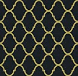 Gold Trellis Wallpaper Black Peel and Stick Wallpaper Adhesive Removable Wallpaper Not See ThroughGold and Black Trellis Wallpaper Gold Trellis Vinyl Film Shelf Paper78.71'X15'