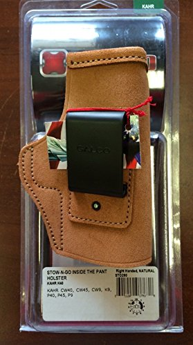 Galco Stow-N-Go Inside The Pants Holster Kahr K40 K9 CW40 CW45 P40 P45 P9