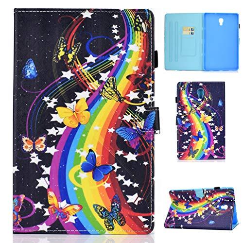 Vogu'SaNa - Funda de Piel con Tapa para Tablet Samsung Galaxy Tab A 10.5 T590/T595 (función Atril, Tarjetero, Cierre magnético)