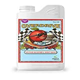 Advanced Nutrients 3750-14 Overdrive Fertilizer 1 Liter, Brown/A