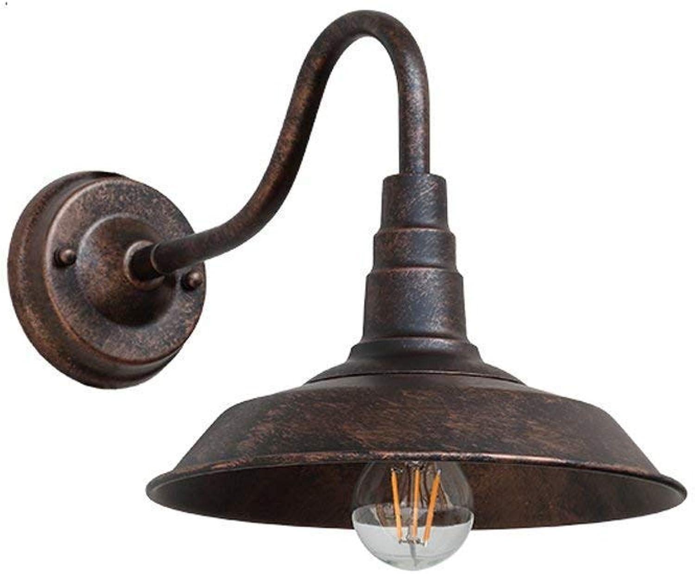 Zhang Ying ZY Amerikanische antike Wandlampe Retro Wandleuchte aus Eisen E27