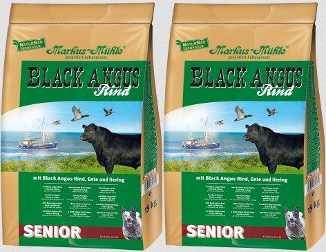 Markus Mühle Black Angus Hundefutter Senior (2x15kg)