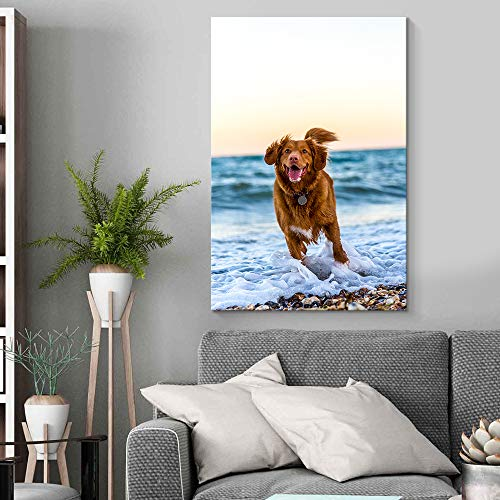 Personalized Canvas Pictures for Wall to Print - Christmas gift idea best friend female example