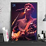 yhnjikl Poster and Prints Art Painting Shawn Mendes Pop