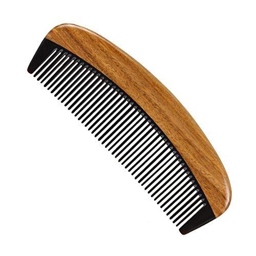 kam breed getande hout kam kam haar kammen voor krullen geen statische sandelhout kam voor mannen en vrouwen voor salon en hotel haarverzorging gereedschap