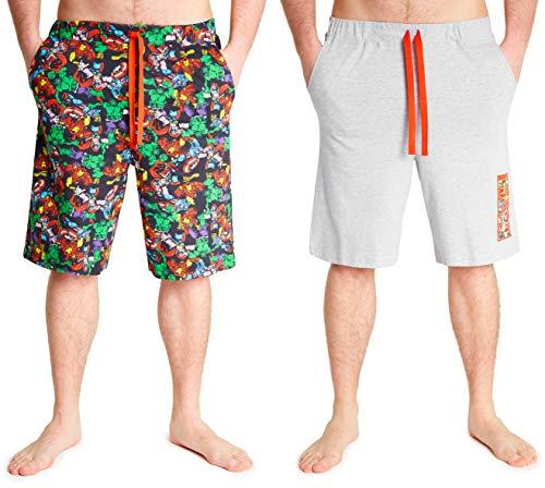 Marvel Pantalones Cortos Hombre, Ropa...