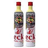 Vodka de Caramelo Gecko de 70 cl - Elaborado en España - Bardinet (Pack de 2 botellas)