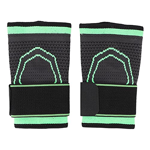 Muñequera, Manguito de compresión de nailon para entrenamientos deportivos, muñequera ajustable Mangas de soporte de muñeca, para llevar en cualquier lugar, unisex(XL)