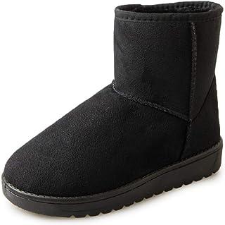 [ライオンズン] スノーブーツ 人気 ムートンブーツ ショート ブーツ スノーシューズ 保暖 裏起毛 綿靴 雪靴 防寒靴 防滑 アウトドアシューズ スノーシューズ トレッキングシューズ ウォーキングシューズ 可愛い短靴 秋冬 カジュアル 新番 レディース