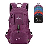NEEKFOX Packable Lightweight Hiking Daypack 35L Travel Hiking Backpack, Ultralight Foldable Backpack...