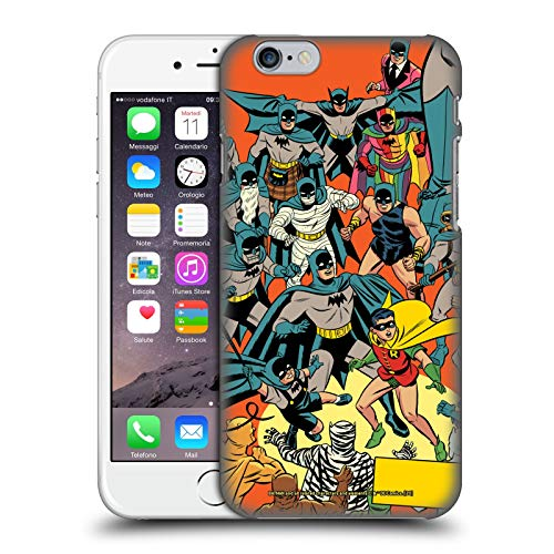 Head Case Designs Ufficiale Batman DC Comics Fumetti Detective 1000 Robin Costumi Iconici Fumetti Cover Dura per Parte Posteriore Compatibile con Apple iPhone 6 / iPhone 6s