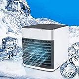 Mini Air Climatiseur Refroidisseur D'air Portable USB Ventilateur 3 EN 1 Réglable...