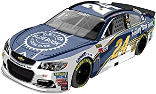 Lionel Racing Chase Elliott # 24 Kelley Blue Book 2017 Chevrolet SS 1:64 Scale ARC HT Official Diecast of the NASCAR Cup Series.