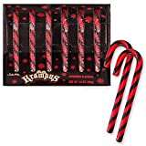 Krampus - Brimstone (Smokey Cinnamon) Flavored Candy Canes: Box of 6