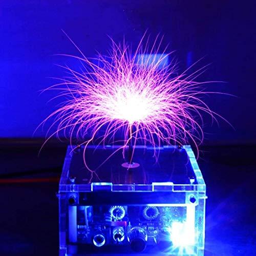 Música de Nivel de Escritorio Tesla Bobina Equipo de Alta tensión de Alto Voltaje Juguete Experimental Rayo Artificial