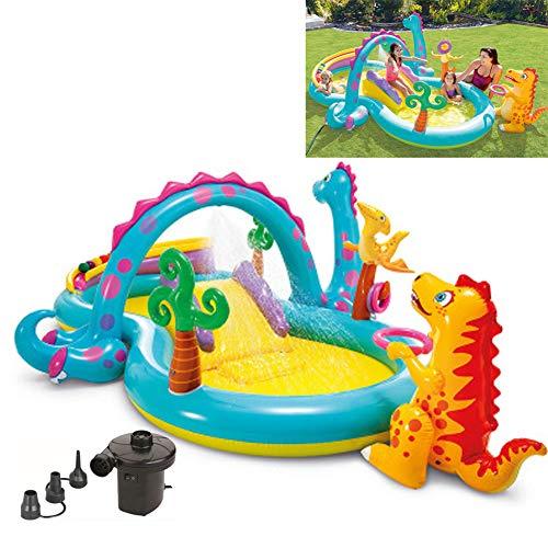 YYYY Toboggan Aquatique d'été sur Le thème des Dinosaures-Tuba
