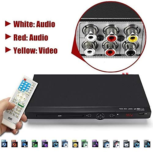 Best Prices! TongLingUSL Mini USB Portable Multiple Playback DVD Player Full HD 1080p DVD CD MP3 Dis...