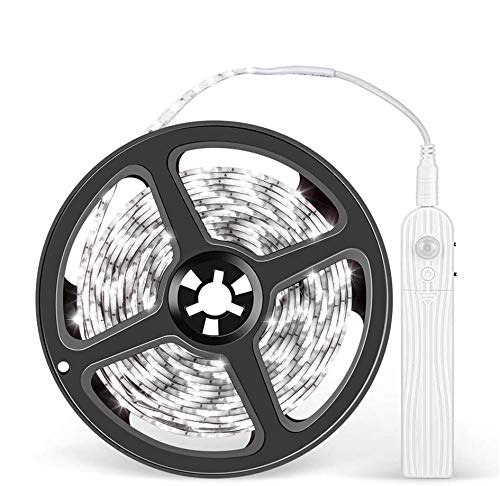LEDテープ 人感センサーライト 長さ3M 電池式 防水 自動点灯消灯 貼り付け型 キッチン/階段/廊下/クローゼット/寝室など適用