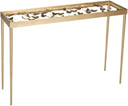 Safavieh Home Collection Rosalia Butterfly Console, Antique Gold
