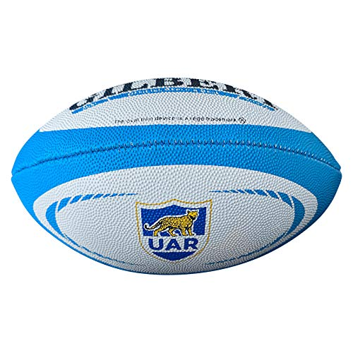 Gilbert Argentina Internationale Kopie Mini Rugby Ball - Weiß, Mini Argentinien