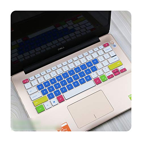 For 2020 Dell Inspiron 14 5000 5400 5401 5406 5490 5493 5498 7405 7490 Vostro 13 5390 5391 5490 Laptop Keyboard Cover Protector-candyblue