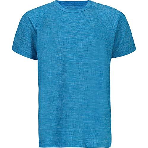CMP Jungen T-Shirt Stretch Con Trattamento Antibatterico, Rif, 140