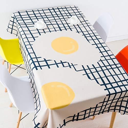 FEKGHJMO Bedruckte Tischdeckenbezüge Aus Baumwollleinen Für Quadratische Und Rechteckige Home Party Banketttische