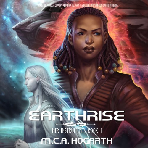 Earthrise audiobook cover art