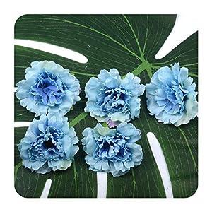 10pcs 5cm Carnation Artificial Silk Flower Head For Wedding Home Party Decoration Scrapbooking Chrismas Fake flowers