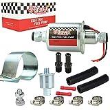 E8012S Universal Electric Fuel Pump Low Pressure 5-9 PSI 12V w/Installation Kit...